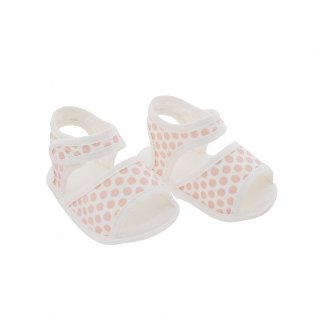 SUMMER BABY SHOES MOD.325 SALMON