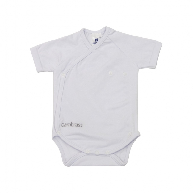 BODY SHORT SLEEVE CROSSED I. THERM WHITE