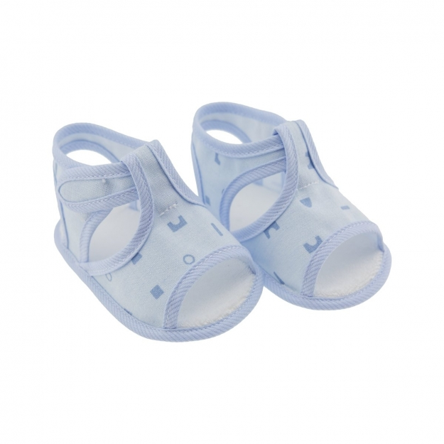 SUMMER BABY SHOES MOD.346 BLUE