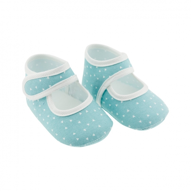 SUMMER BABY SHOES MOD.337 TURQUOISE