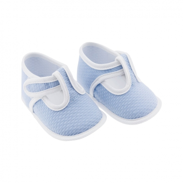 SUMMER BABY SHOES MOD.339 BLUE