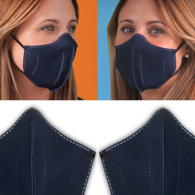 HIGYENIC MASK DELUXE 2 UN. LISA DUO NAVY