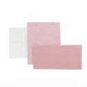 COMPLETO CULLA 3 PZ 80x120x1 CM FOREST ROSA
